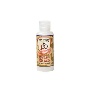 Pits & Bits® Towel Off® Body Wash 65ml - Antibacterial & Unfragranced